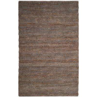 Natural Fiber Beige 5 ft. x 8 ft. Indoor Area Rug