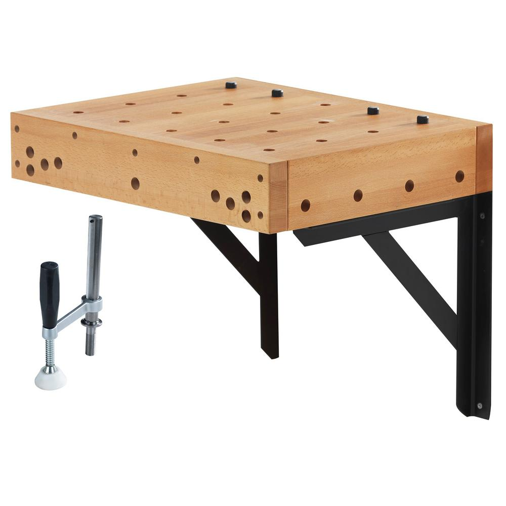 Sjobergs 1.5 ft. Clamping Workbench Table with Holdfast ...