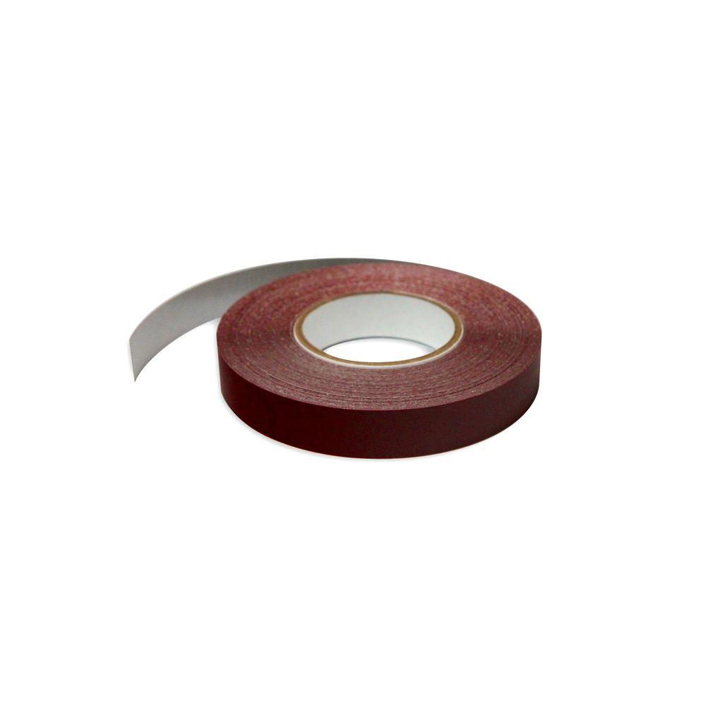 1 in. Wide x 100 ft. Long Roll Deco-Tape Merlot Self-Adhesive