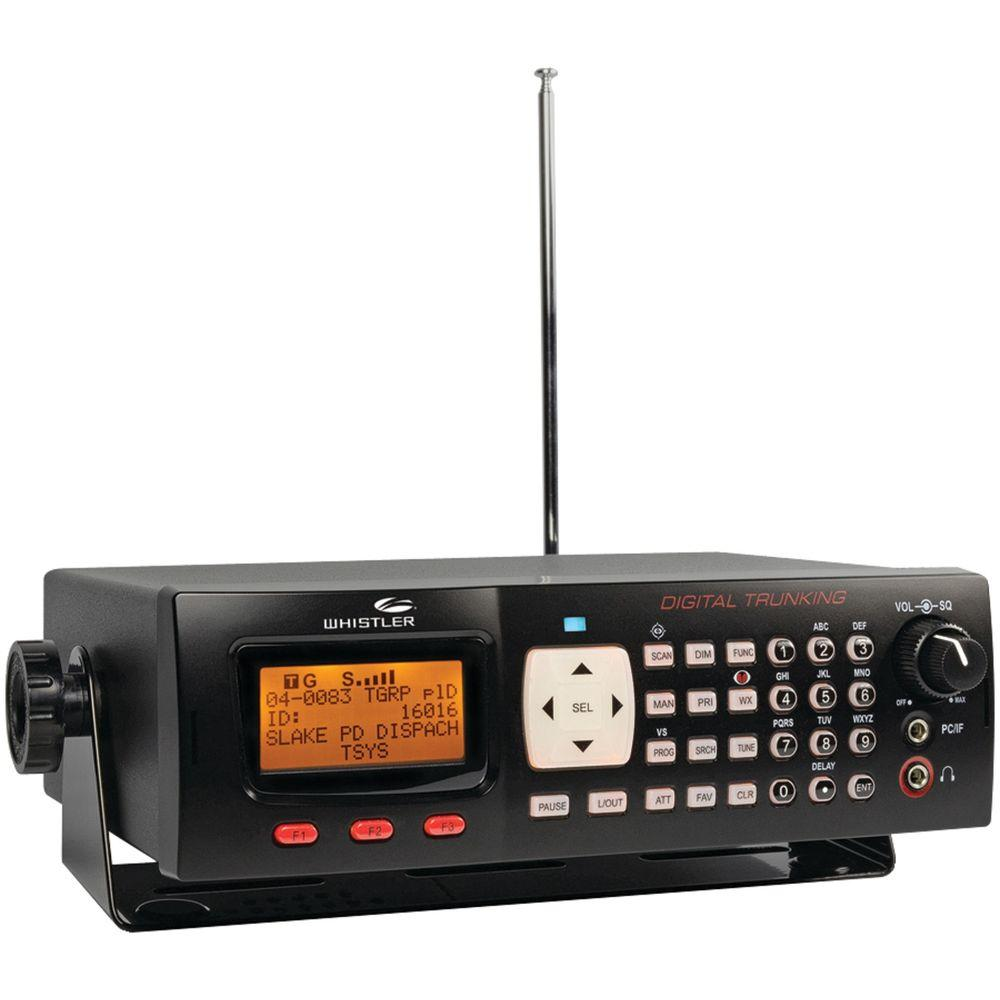 Whistler Digital Desktop Radio Scanner