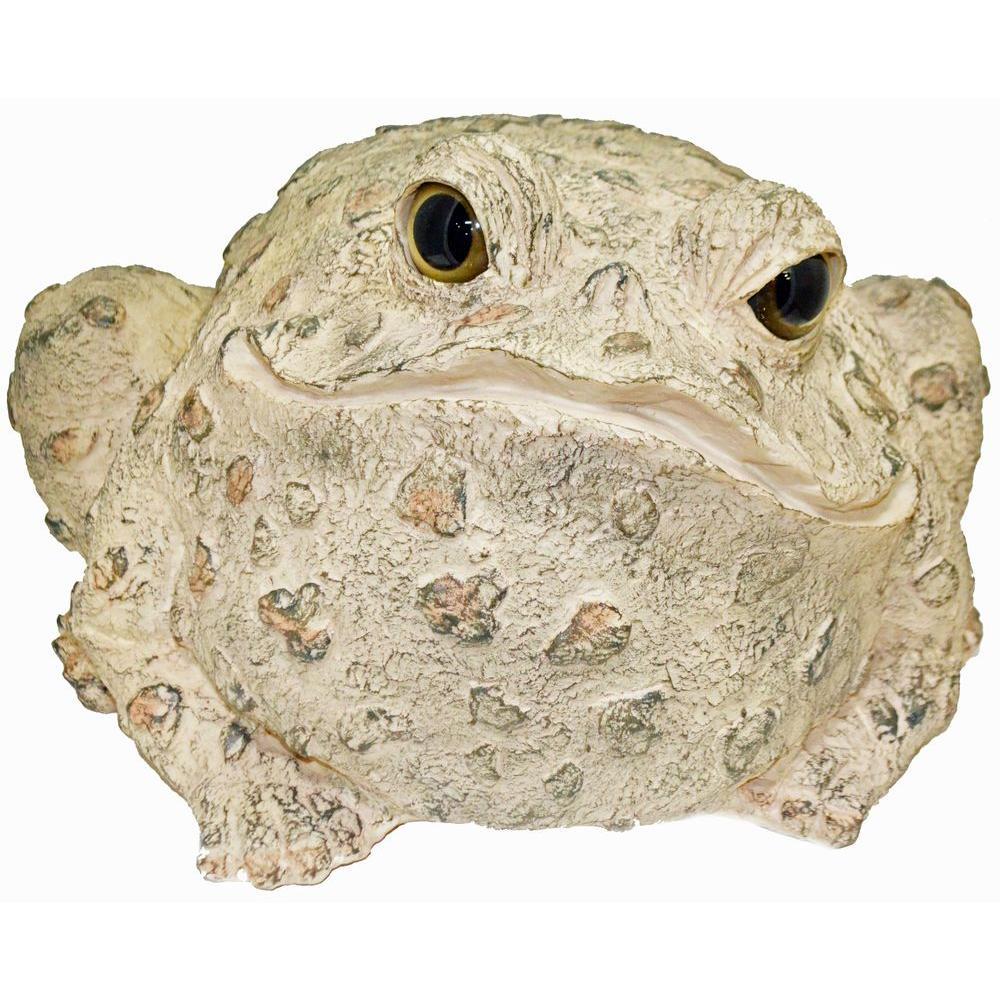 11 in. Toad Garden Statue