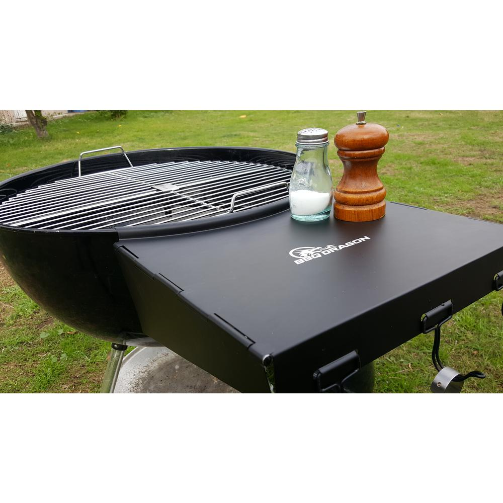 Weber Bbq Side Table.Bbq Dragon Dragon Wing Folding Grill Shelf