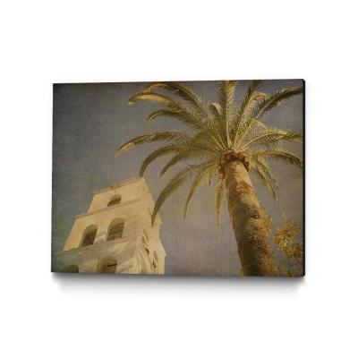 "40 in. x 30 in. ""Vintage Palm II"" by Steve Silverman Wall Art"