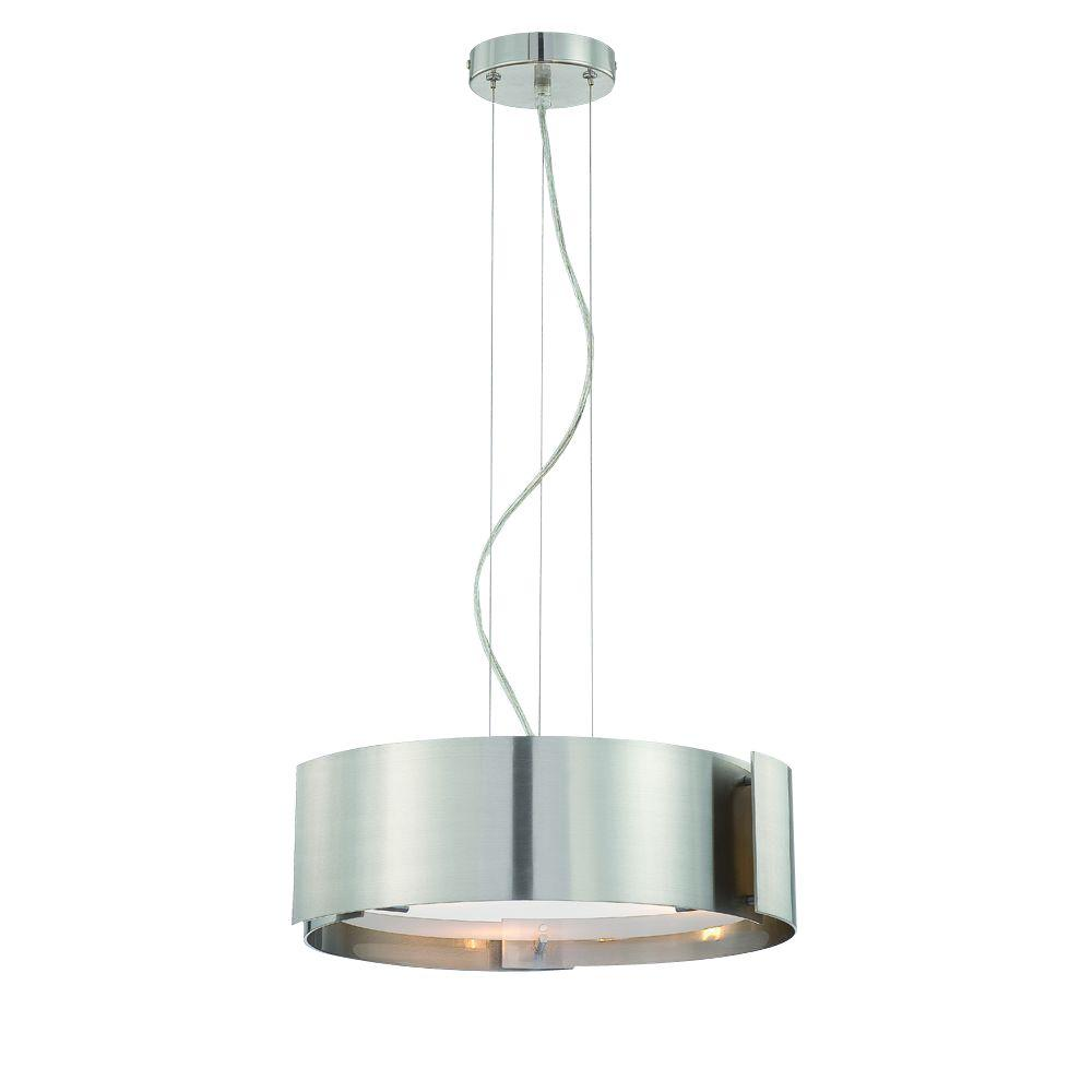 Eurofase Dervish Collection 5-Light Chrome Hanging Large Pendant