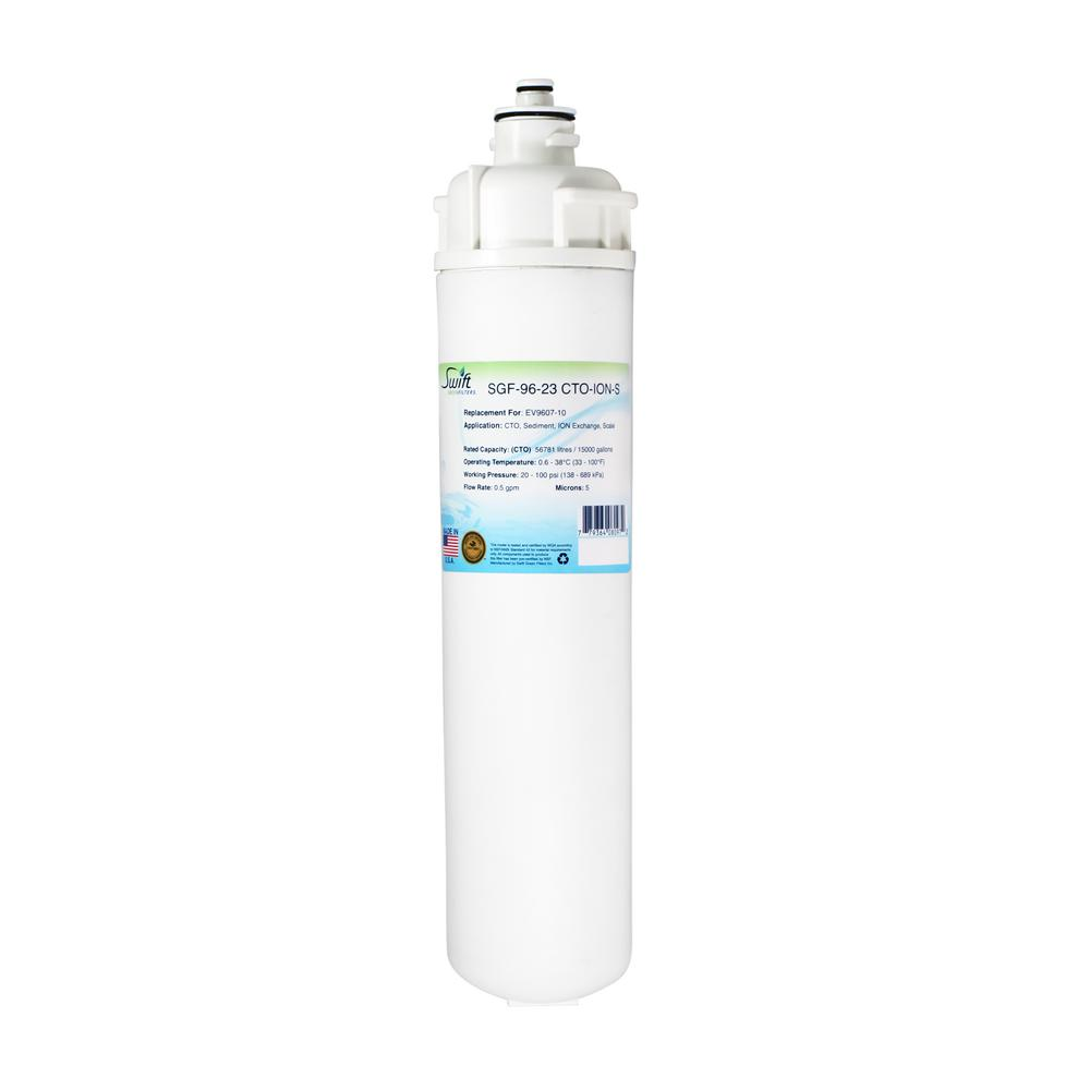 Swift Green Filters SGF96-23 CTOIONS Replacement Water Filter for Everpure  EV9607-10