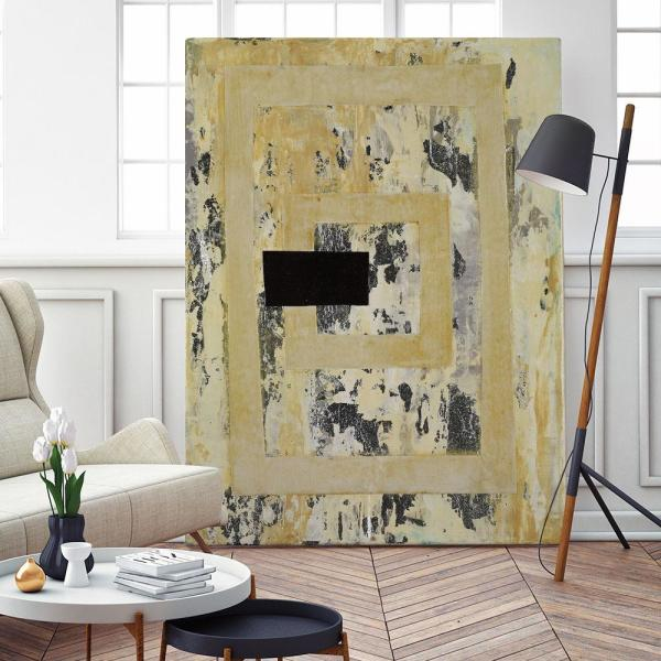 Giant Art 54 In X 72 In Nickels Dimes Iii By Natalie Avondet Wall Art Wag73532a8 The Home Depot