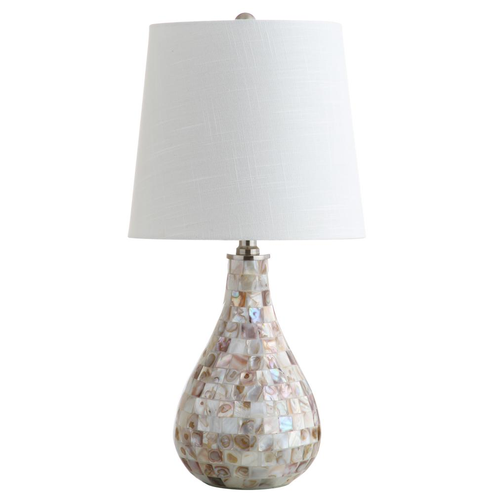 Jonathan y mona 205 in seashell mini table lamp jyl1024a the seashell mini table lamp aloadofball Image collections