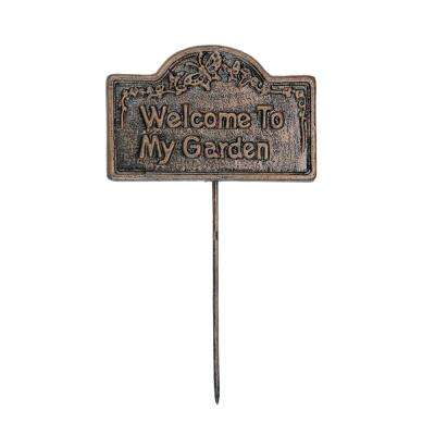 Garden Marker Welcome To My Garden Sign