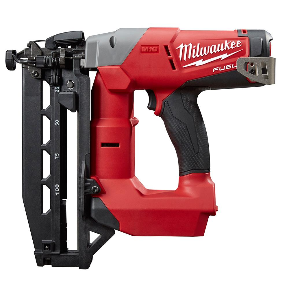 Reconditioned M18 FUEL 18-Volt Lithium-Ion Brushless Cordless 16-Gauge Straight