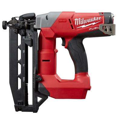 Reconditioned M18 FUEL 18-Volt Lithium-Ion Brushless Cordless 16-Gauge Straight Finish Nailer (Tool Only)