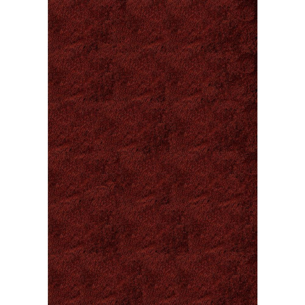 Luster Shag Brick 5 ft. x 7 ft. Indoor Area Rug
