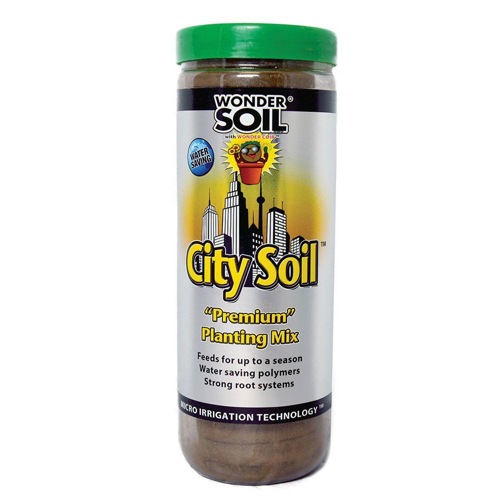 WONDER SOIL 18 Expanding City Soil Complete Mix Coco Wafers