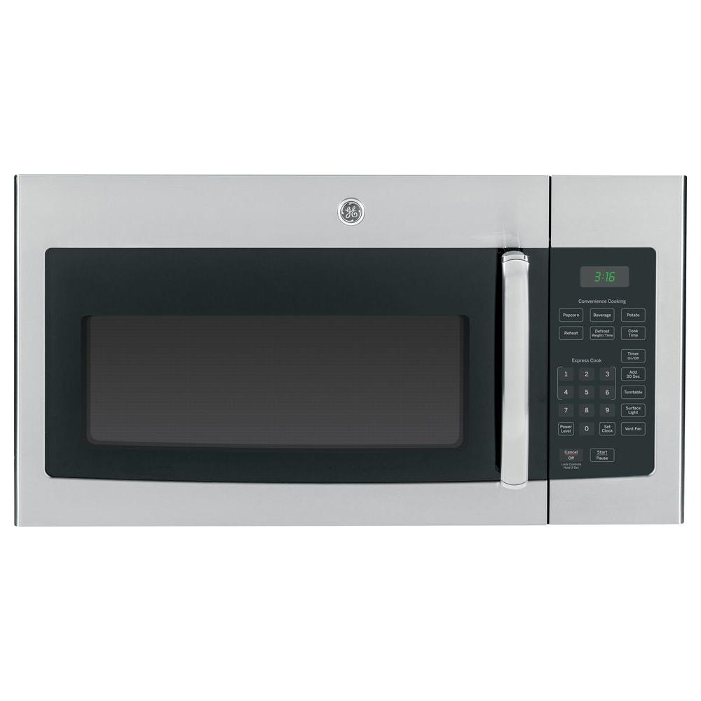 GE 1.6 cu. ft. Over the Range Microwave Oven in Stainless Steel