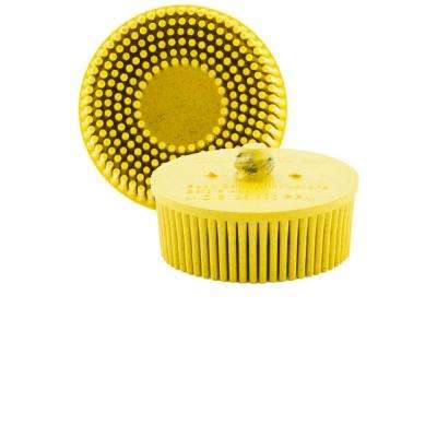 Merlin2 QC Bristle 80 Grit in Medium Yellow