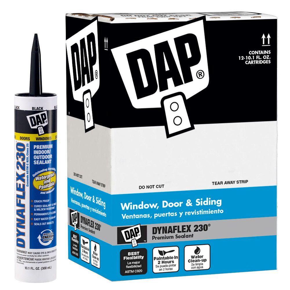 Dynaflex 230 10.1 oz. Black Premium Indoor/Outdoor Sealant (12-Pack)