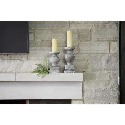 Candle Holder Cement (Set of 2)