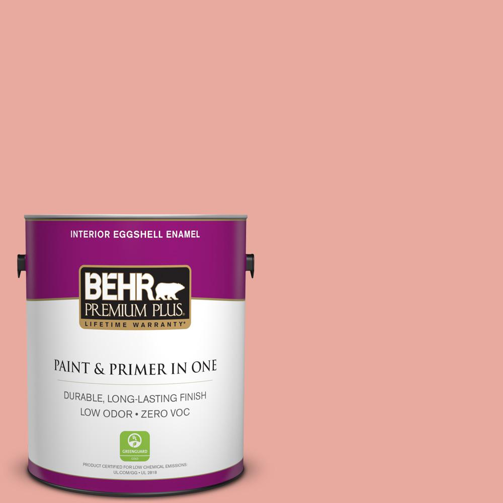 BEHR Premium Plus 1-gal. #M170-4 Passion Fruit Punch Eggshell Enamel Interior Paint