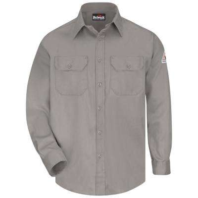 EXCEL FR ComforTouch Men's X-Large (Tall) Grey Uniform Shirt