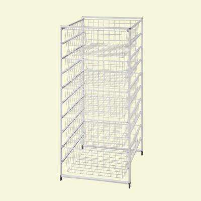 17.875 in. x 41 in. Drawer Kit with 5 Wire Basket