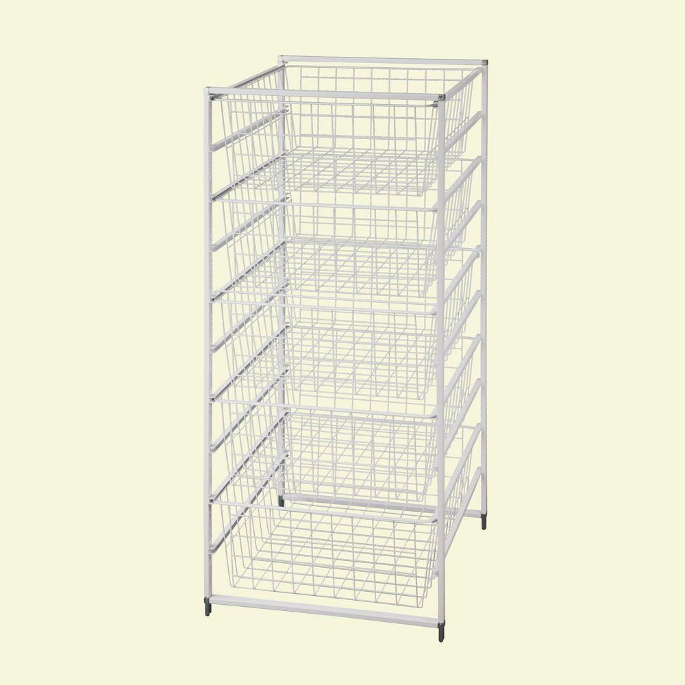 Closetmaid 17 In D X 21 In W X 27 In H Shelftrack 4 Drawer Kit