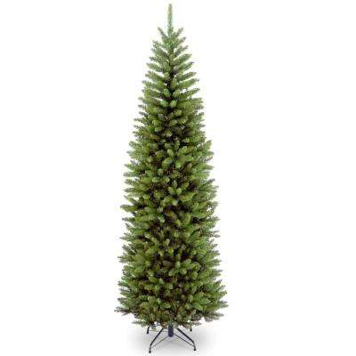 Kingswood Fir Pencil Artificial Christmas Tree - Unlit Christmas Trees - Artificial Christmas Trees - The Home Depot