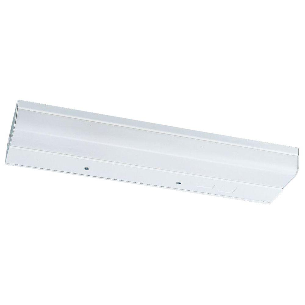 24 in. White Undercabinet Fixture