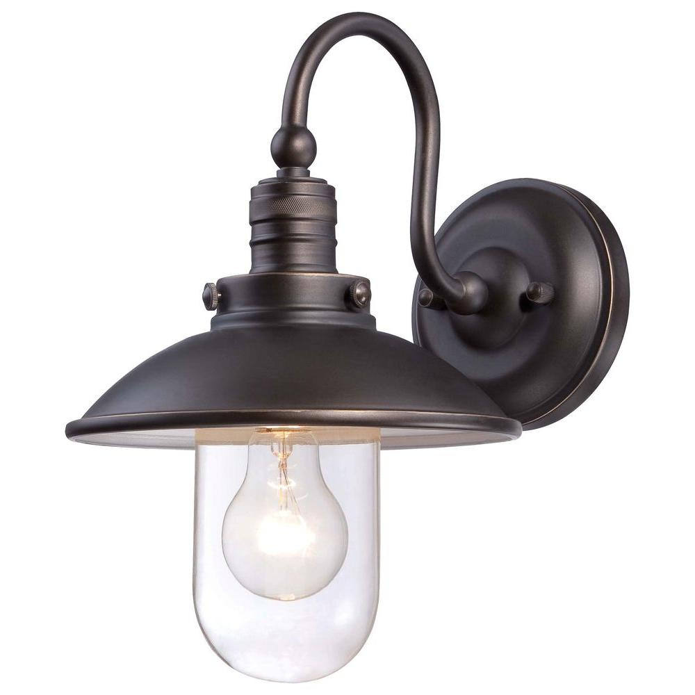 Minka Lavery Downtown Edison Oil Rubbed Bronze Sconce