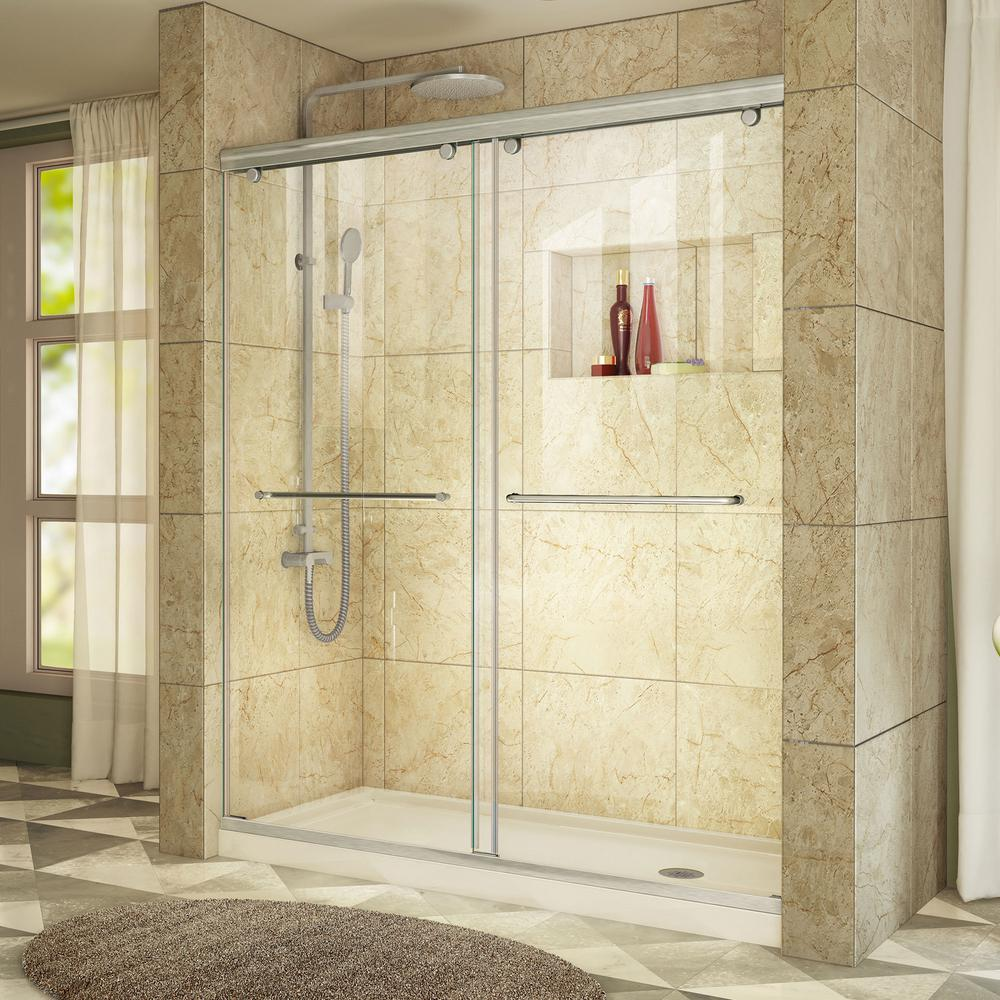 Charisma 32 in. x 60 in. x 78.75 in. Shower Kit
