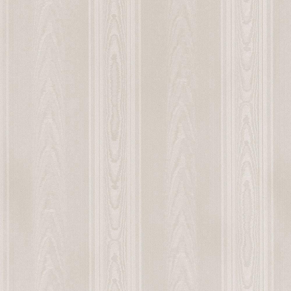 Norwall Medium Moir Stripe Wallpaper SK34707