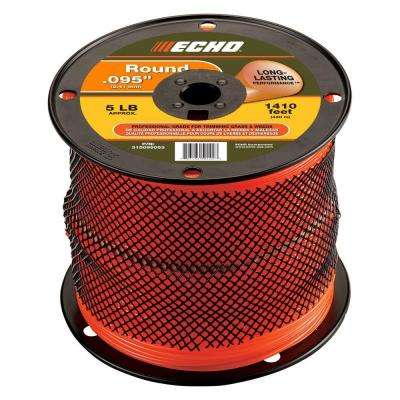 ".095"" Round Trimmer Line (1,410 ft.) Large Spool"