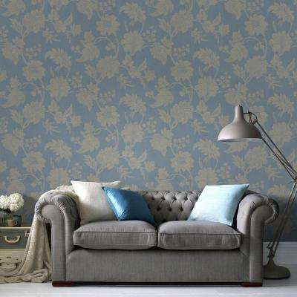 Blue Mystique Wallpaper