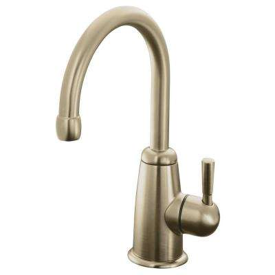 Vibrant Brushed Bronze Kitchen Faucets Kitchen The Home Depot