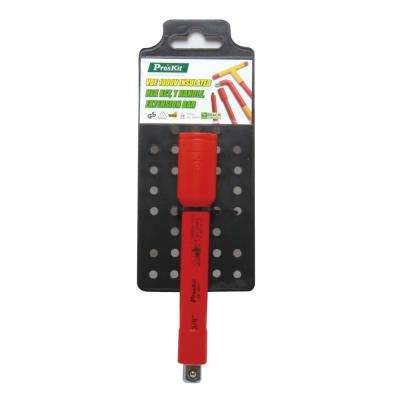 1/2 in. VDE 1000-Volt Insulated 4.9 in. Drive Extension Bar