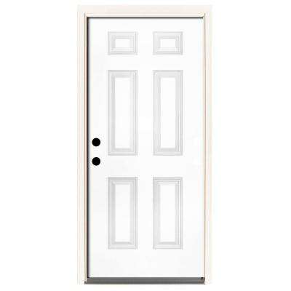 42 X 80 Steel Doors Front Doors The Home Depot