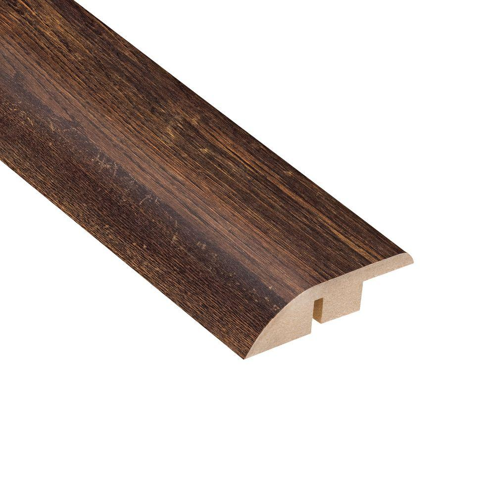 Home Legend Woodbridge Oak 1/2 in. Thick x 1-3/4 in. Wide x 94 in. Length Laminate Hard Surface Reducer Molding