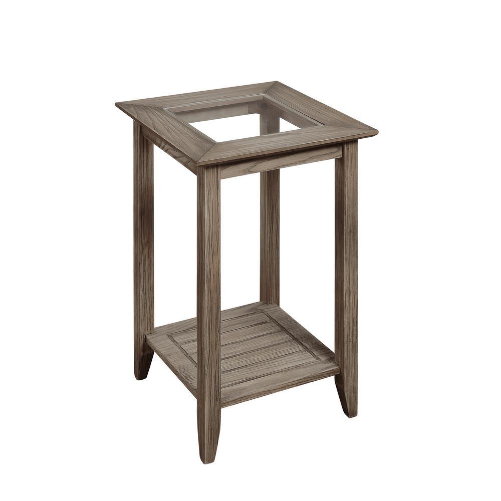 Convenience Concepts Carmel Driftwood End Table R6-272