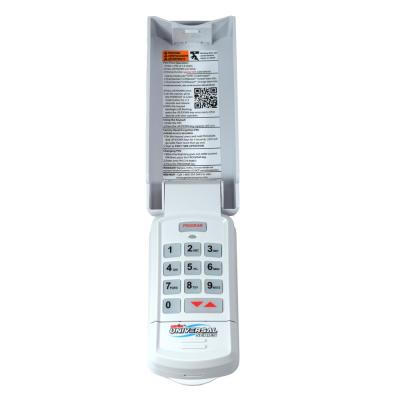 Universal Wireless Keypad - Exterior Control For All Brands of Garage Door Openers
