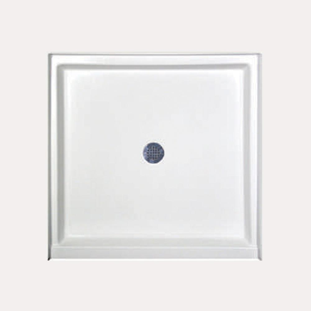 Hydro Systems 36 in. x 34 in. Single Threshold Shower Base in White