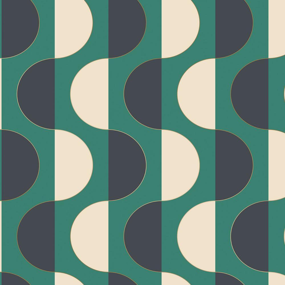 Luna Emerald Self Adhesive Removable Wallpaper