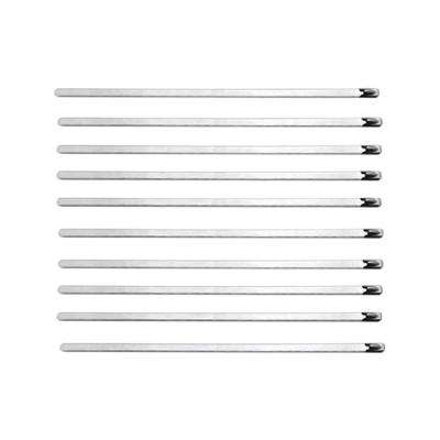 Stainless Steel Cable Ties 14.5in Long (10 Cable Ties / Pack)