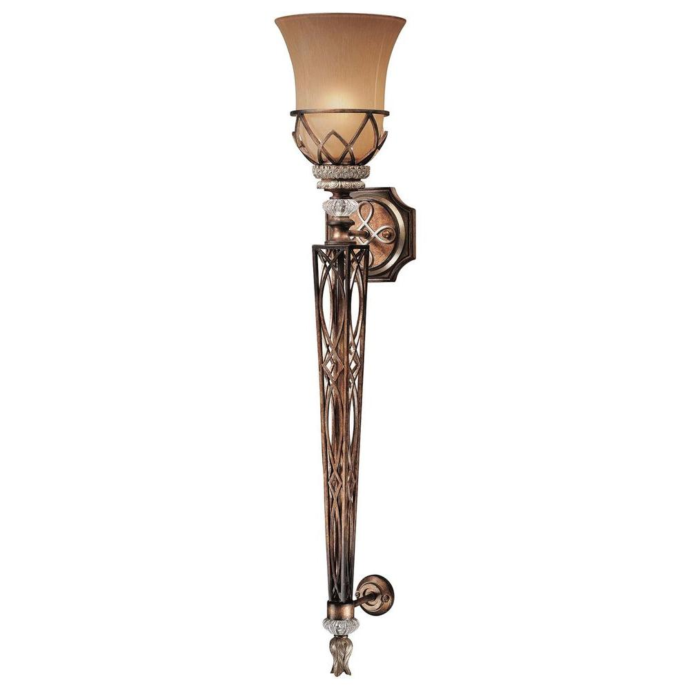 Minka Lavery Aston Court 1-Light Bronze Sconce