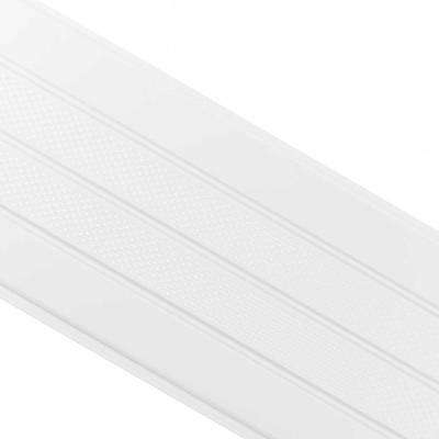 16 in. x 12 ft. Birch White Aluminum Center Vented Soffit