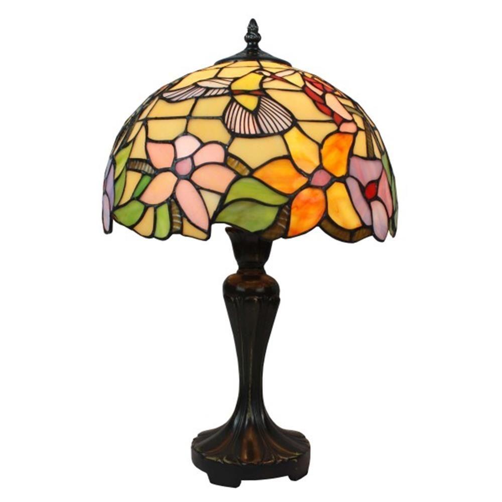 Tiffany Style Hummingbird Design Table Lamp AM1112TL12