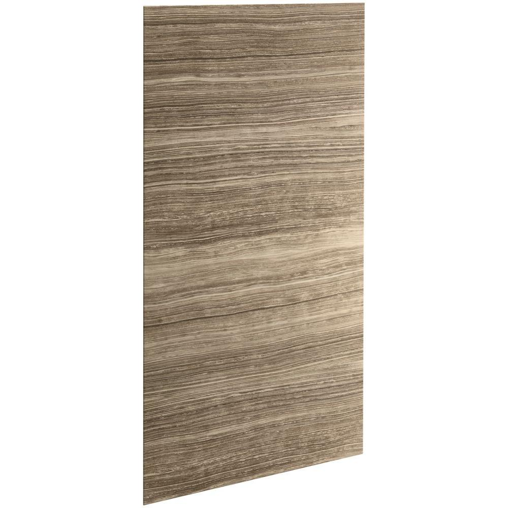 Almond - Shower Walls & Surrounds - Showers - The Home Depot