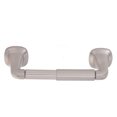 Belding Collection Double Post Toilet Paper Holder in Satin Nickel