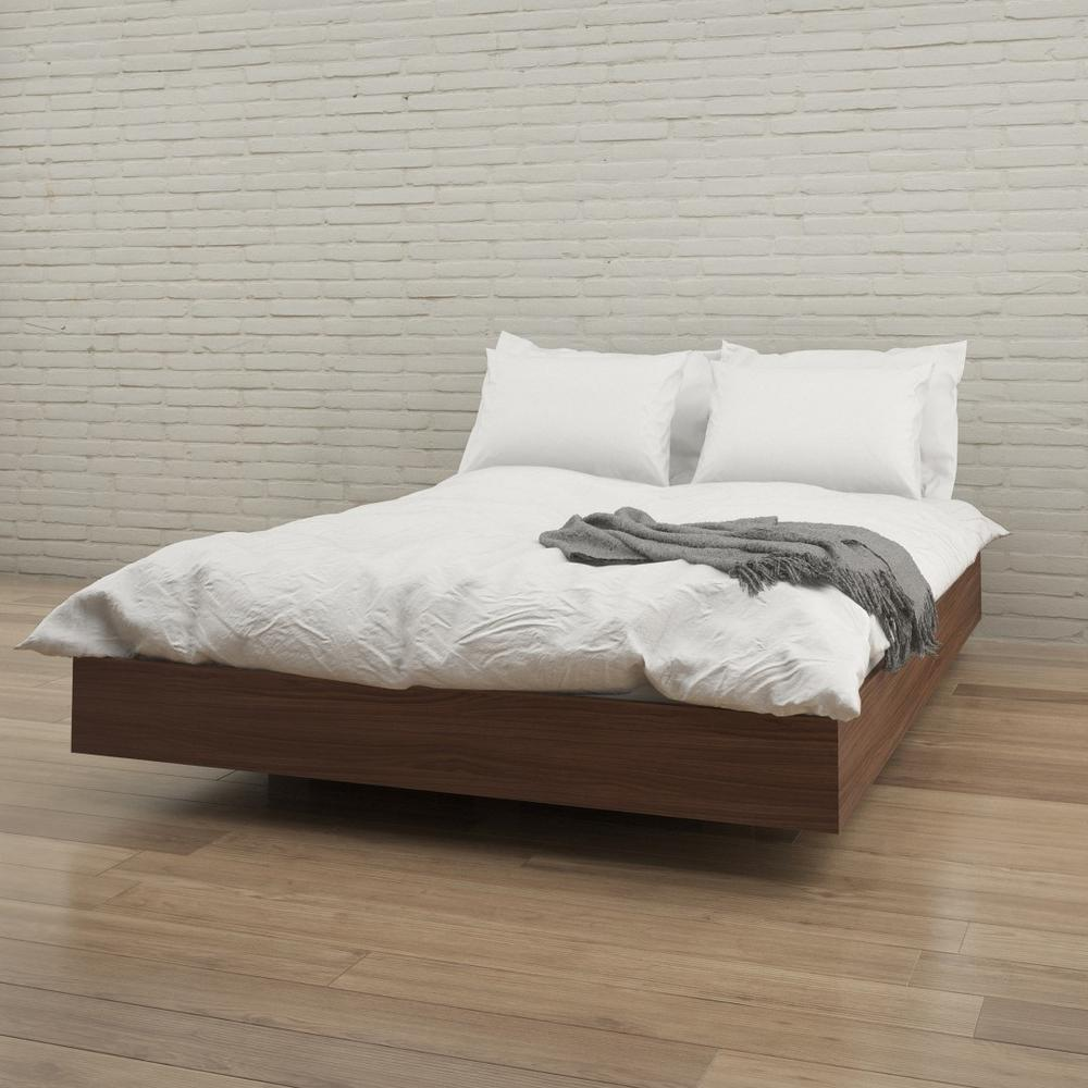 Alibi Queen Size Platform Bed-346031 - The Home Depot