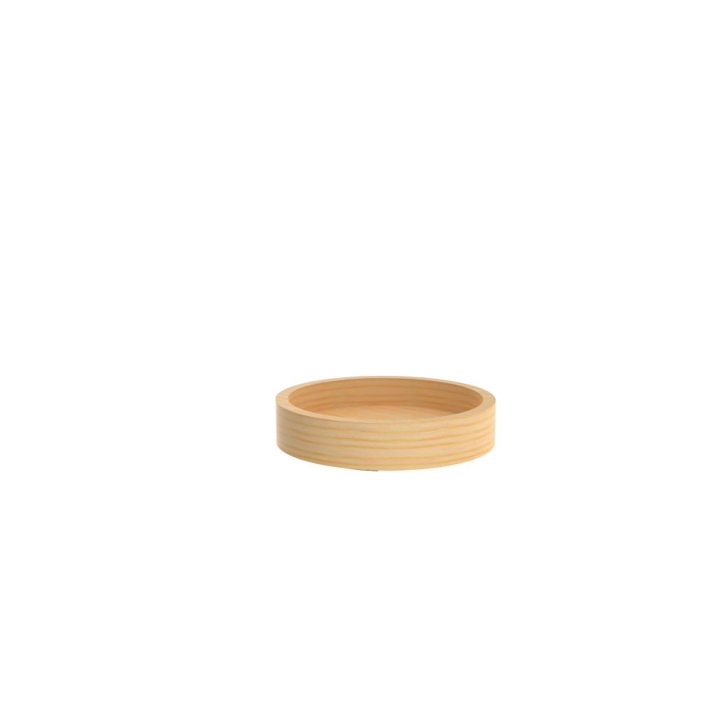 10 in. Wood Full Circle Lazy Susan with Swivel Bearing