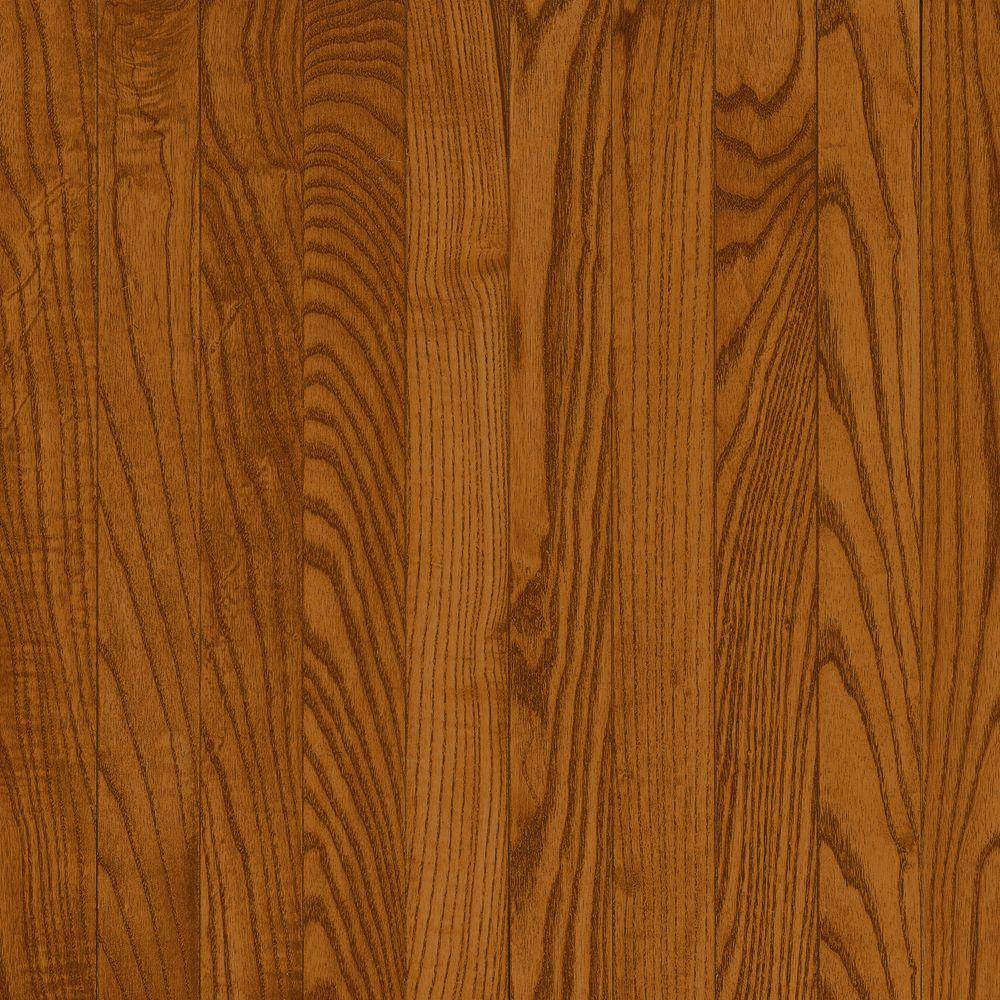 Bruce Natural Reflections Gunstock Oak 5 16 In Thick X 2 1