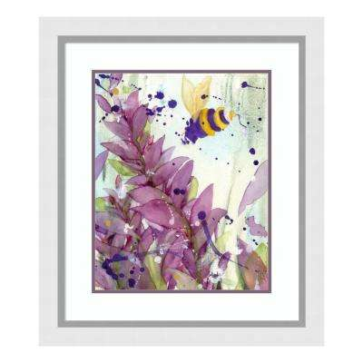"""Pollinator"" by Dawn Derman Framed Wall Art"