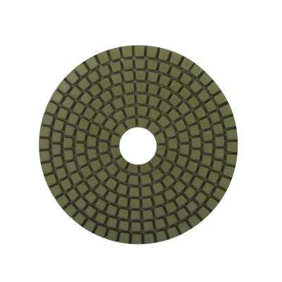 4 in. 800 Grit Resin Wet Polishing Pad